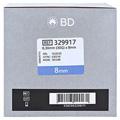 BD SAFEASSIST Sicherheits-Pen-Nadeln 30 G 8 mm 100 Stück - Linke Seite