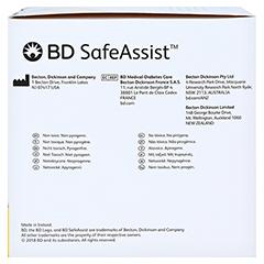 BD SAFEASSIST Sicherheits-Pen-Nadeln 30 G 8 mm 100 Stück - Rechte Seite