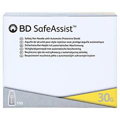 BD SAFEASSIST Sicherheits-Pen-Nadeln 30 G 8 mm 100 Stück - Vorderseite