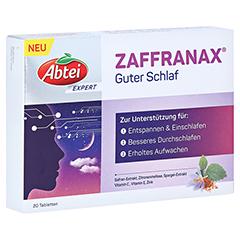 ABTEI EXPERT ZAFFRANAX Guter Schlaf Tabletten 20 Stück