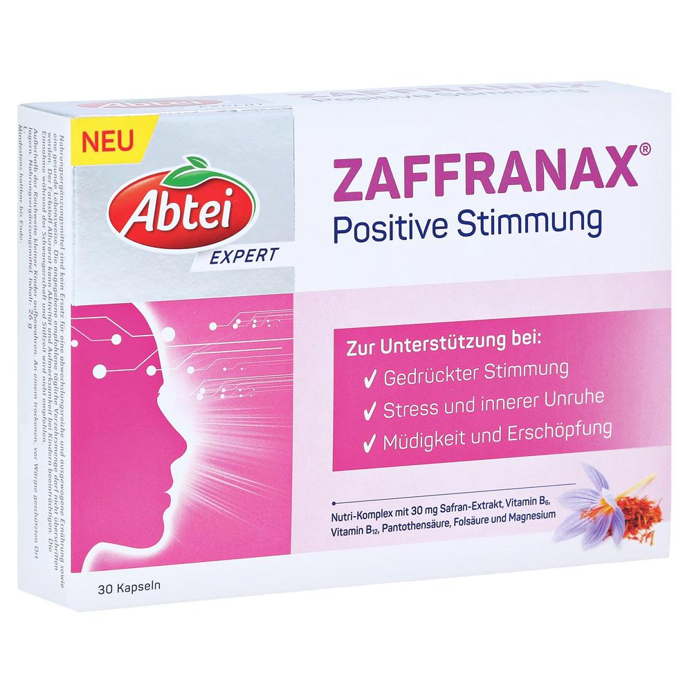 ABTEI EXPERT ZAFFRANAX Positive Stimmung Kapseln 30 Stück