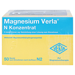 Magnesium Verla N Konzentrat 100 Stück N3 - Unterseite
