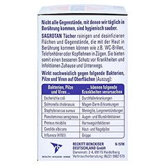 Sagrotan Desinfektionstücher 18 Stück - Rechte Seite