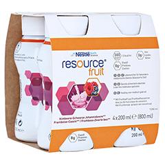 RESOURCE Fruit Mischkarton 6x4x200 Milliliter - Rechte Seite