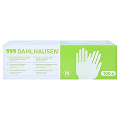 VINYL Handschuhe ungepudert Gr.M 100 Stück - Vorderseite
