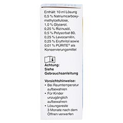 Optive PLUS Augentropfen 10 Milliliter - Linke Seite