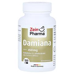 Damiana Kapseln 450 mg 5:1 Blattextrakt 100 Stück