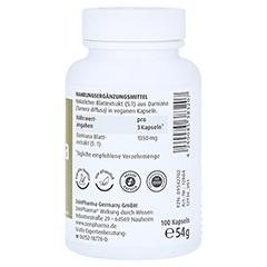 Damiana Kapseln 450 mg 5:1 Blattextrakt 100 Stück - Rechte Seite