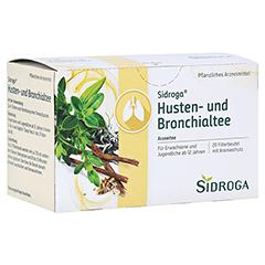 SIDROGA Husten- und Bronchialtee Filterbeutel 20x2.0 Gramm