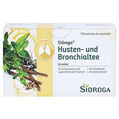 SIDROGA Husten- und Bronchialtee Filterbeutel 20x2.0 Gramm - Vorderseite