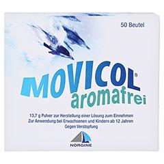 Movicol Aromafrei Pulver zur Herstellung einer Lösung zum Einnehmen 50 Stück - Vorderseite