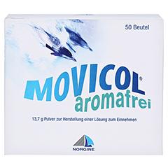 Movicol Aromafrei Pulver zur Herstellung einer Lösung zum Einnehmen 50 Stück - Rückseite