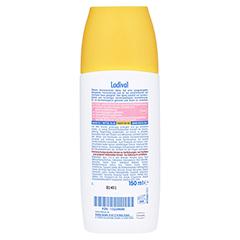 LADIVAL empfindliche Haut Spray LSF 30 + gratis Ladival Anti-Pigment Creme LSF 30 (5 ml) 150 Milliliter - Rückseite