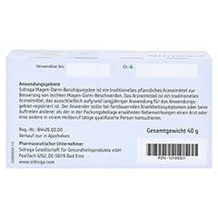 SIDROGA Magen-Darm-Beruhigungstee Filterbeutel 20x2.0 Gramm - Unterseite