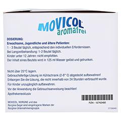 Movicol Aromafrei Pulver zur Herstellung einer Lösung zum Einnehmen 50 Stück - Rechte Seite