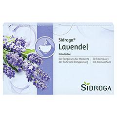 SIDROGA Lavendel 20 Stück - Vorderseite