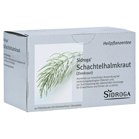SIDROGA Schachtelhalmkraut Tee Filterbeutel 20x2.0 Gramm