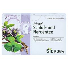 SIDROGA Schlaf- und Nerventee 20x2.0 Gramm - Vorderseite