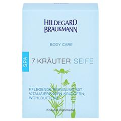 Hildegard Braukmann BODY CARE 7 Kräuter Seife 150 Gramm - Vorderseite