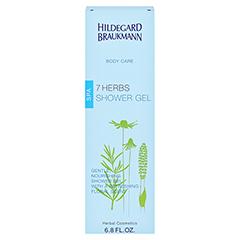 Hildegard Braukmann BODY CARE 7 Kräuter Dusch Gel 200 Milliliter - Rückseite