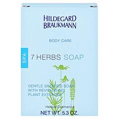 Hildegard Braukmann BODY CARE 7 Kräuter Seife 150 Gramm - Rückseite