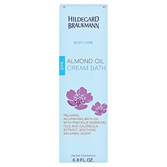 Hildegard Braukmann BODY CARE Mandel Öl Creme Bad 200 Milliliter - Rückseite