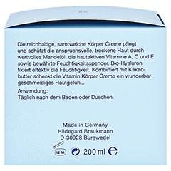 Hildegard Braukmann BODY CARE Vitamin Körper Creme 200 Milliliter - Rechte Seite