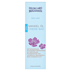 Hildegard Braukmann BODY CARE Mandel Öl Creme Bad 200 Milliliter - Vorderseite