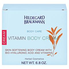 Hildegard Braukmann BODY CARE Vitamin Körper Creme 200 Milliliter - Rückseite
