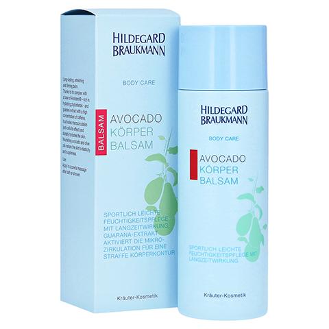 Hildegard Braukmann BODY CARE Avocado Körper Balsam 200 Milliliter