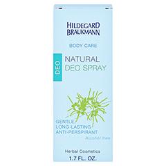 Hildegard Braukmann BODY CARE Natural Deo Spray 50 Milliliter - Rückseite