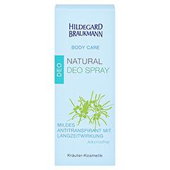 Hildegard Braukmann BODY CARE Natural Deo Spray 50 Milliliter - Vorderseite