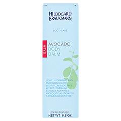 Hildegard Braukmann BODY CARE Avocado Körper Balsam 200 Milliliter - Rückseite