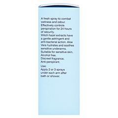 Hildegard Braukmann BODY CARE Natural Deo Spray 50 Milliliter - Linke Seite