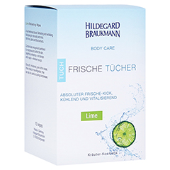 Hildegard Braukmann BODY CARE Lime Frische Tücher 10 Stück