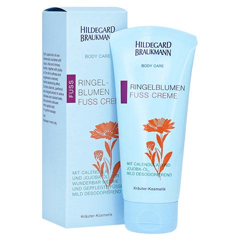 Hildegard Braukmann BODY CARE Ringelblumen Fuss Creme 100 Milliliter