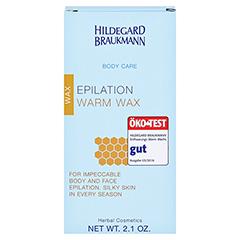 Hildegard Braukmann BODY CARE Enthaarungs Warm Wachs 60 Gramm - Rückseite