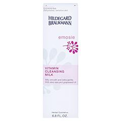 Hildegard Braukmann EMOSIE Vitamin Reinigungs Milch 200 Milliliter - Rückseite