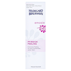 Hildegard Braukmann EMOSIE Pfirsich Peeling 100 Milliliter - Vorderseite