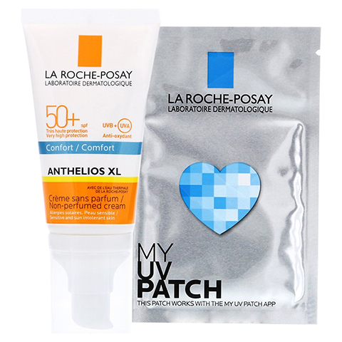 ROCHE-POSAY Anthelios XL LSF 50+ Creme / R + gratis My UV Patch 50 Milliliter