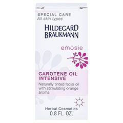 Hildegard Braukmann EMOSIE Karotin Öl Intensiv 25 Milliliter - Rückseite
