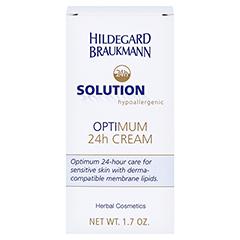 Hildegard Braukmann 24H SOLUTION optimum 24h Creme 50 Milliliter - Rückseite