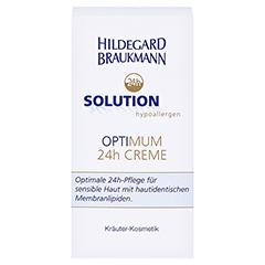 Hildegard Braukmann 24H SOLUTION optimum 24h Creme 50 Milliliter - Vorderseite