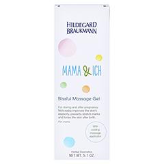 Hildegard Braukmann MAMA & ICH Massage Glücks Gelee 150 Milliliter - Rückseite