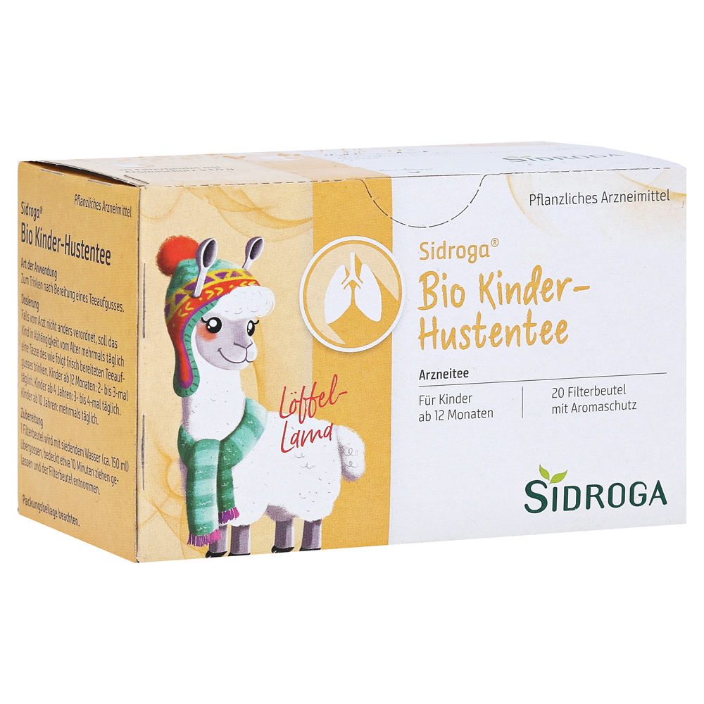 sidroga bio kinder hustentee 20 st ck online bestellen medpex versandapotheke. Black Bedroom Furniture Sets. Home Design Ideas