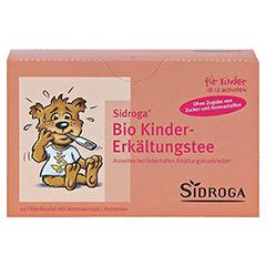 Sidroga Bio Kinder-Erkältungstee 20x1.5 Gramm - Vorderseite