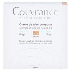 Avène Couvrance Kompakt Creme-Make-up mattierend beige 10 Gramm - Vorderseite