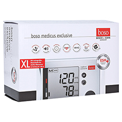 BOSO medicus exclusive Blutdruckmessger.XL st.Arme 1 Stück