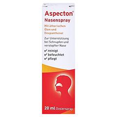 Aspecton Nasenspray (1,5%) 20 Milliliter - Vorderseite