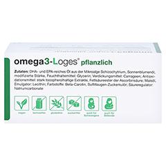 Omega3-loges Pflanzlich Kapseln 60 Stück - Oberseite